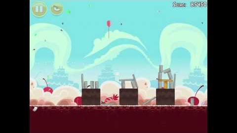 Angry Birds Birdday Party 18-9 Walkthrough 3 Star Birthday Party