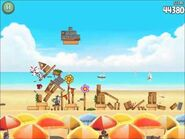 Official Angry Birds Rio Walkthrough Beach Volley 5-9
