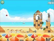 Official Angry Birds Rio Walkthrough Beach Volley 6-10