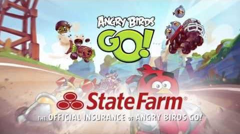 Bad piggies22/Новая игра Angry Birds Go!