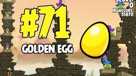 Angry Birds Seasons Fairy Hogmother Golden Egg 71 Walkthrough