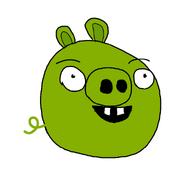 Minion Pig Sketch by Bird-scientist