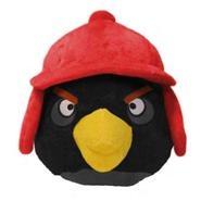 Игрушка зимней чёрной птицы