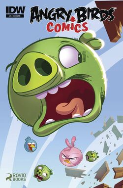 Angry birds comics -5 sub ver cover