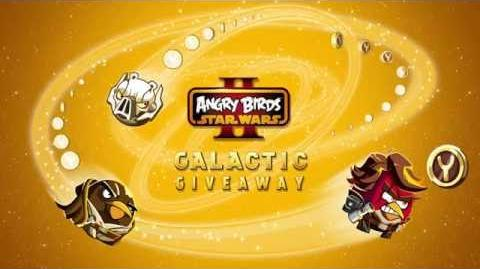 NEW! Angry Birds Star Wars 2 Galactic Giveaway gameplay trailer