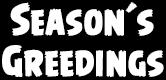 Season's Greedings ep