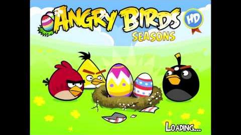 Angry birds seasons Easter eggs theme song