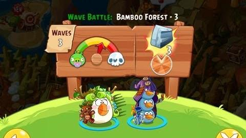 Angry Birds Epic Bamboo Forest Level 3 Walkthrough