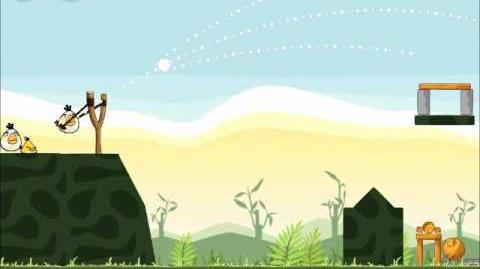 Official Angry Birds Walkthrough Poached Eggs 2-18