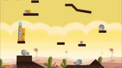 Official Angry Birds Walkthrough Poached Eggs 3-1