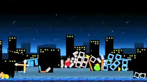 Official Angry Birds Walkthrough The Big Setup 11-8