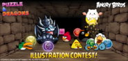 AngryBirds X PuzzleAndDragons Collab Image2