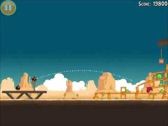 Official Angry Birds Walkthrough Ham 'Em High 12-9