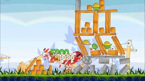 Official Angry Birds Walkthrough The Big Setup 9-4