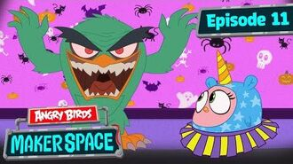 Angry Birds MakerSpace - Scary Hatchling Halloween - S1 Ep11