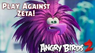 Defeat Zeta from The Angry Birds Movie 2!
