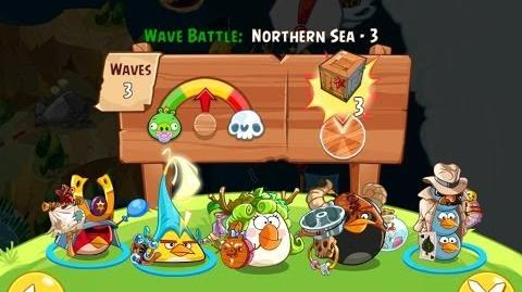 Angry Birds Epic Northern Sea Level 3 Walkthrough