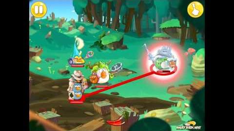 Angry Birds Epic Square Forest Level 2 Walkthrough