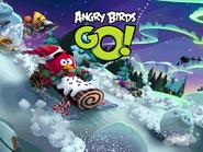 Angry Birds Go (новогодний экран загрузки)