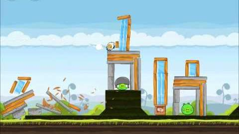 Official Angry Birds Walkthrough Mighty Hoax 4-8