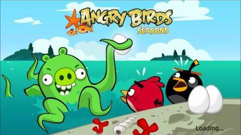 Angry Birds Seasons Piglantis Theme (Summer Solstice 2012) (HD)