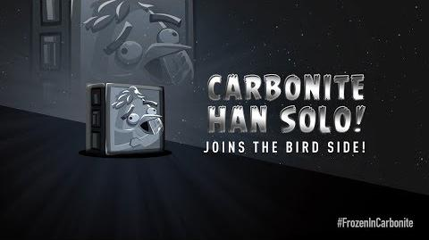 NEW! Angry Birds Star Wars 2 Carbonite Pack character reveals Carbonite Han Solo