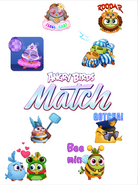 AB Match Stickers Poster