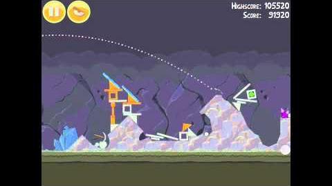 Angry Birds 16-6 Mine & Dine 3 Star Walkthrough