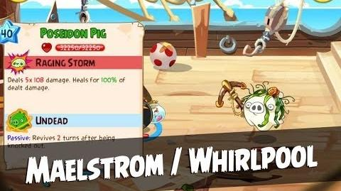 Angry Birds Epic Maelstrom Walkthrough Whirlpool Level