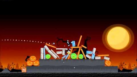 Official Angry Birds Seasons Walkthrough Trick or Treat 2-11