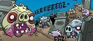 Зомби в комиксе