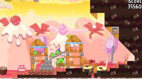 Angry Birds Birdday Party 19-11 Walkthrough 3 Star Birthday Party