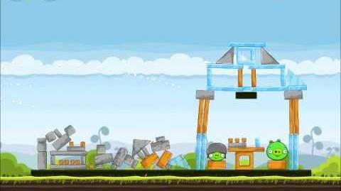 Official Angry Birds Walkthrough Mighty Hoax 4-3