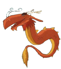 Могучий дракон в трейлере