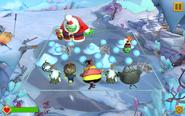 Санта-хряк на уровне