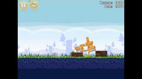 Angry Birds Poached Eggs 1-20 Walkthrough 3 Star