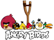 Angry birds and slingshot