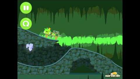 Bad Piggies Ground Hog Day 1-III Bonus Level Walkthrough 3 Star
