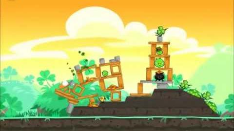 Official Angry Birds Seasons Walkthrough Go Green, Get Lucky 1-16