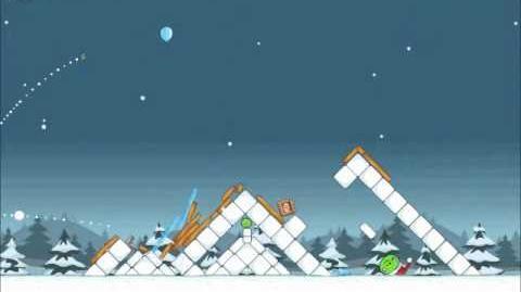 Official Angry Birds Seasons Walkthrough Season's Greedings 1-21