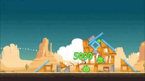 Official Angry Birds Walkthrough Ham 'Em High 14-13