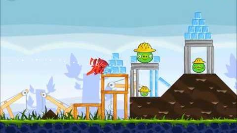 Official Angry Birds Walkthrough The Big Setup 9-3