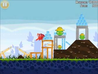 Official Angry Birds Walkthrough The Big Setup 9-3