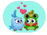 Angry Birds Match Stickers