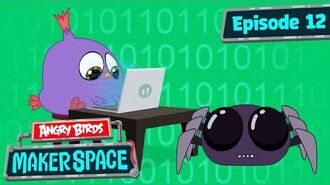 Angry Birds MakerSpace - Will's Spider Bot Build - S1 Ep12