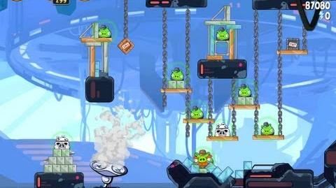 Cloud City 4-25 (Angry Birds Star Wars)/Video Walkthrough