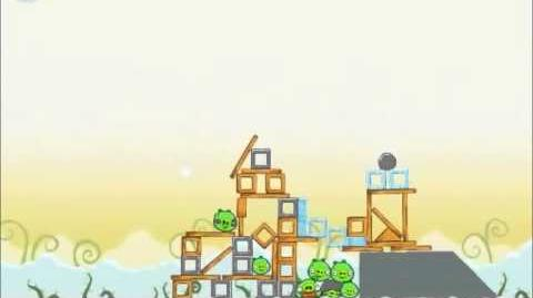 Official Angry Birds Walkthrough Danger Above 8-12