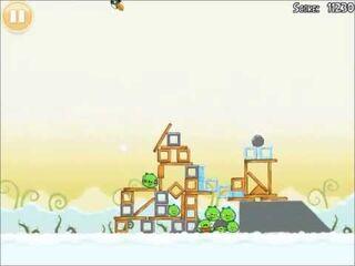 Official Angry Birds Walkthrough Danger Above 8-12