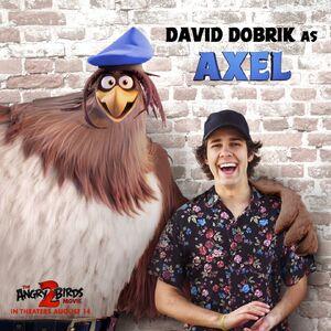 Axel Angry Birds Wiki Fandom