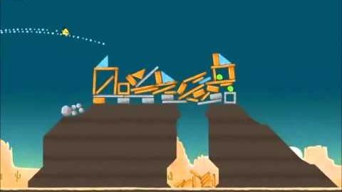 Official Angry Birds Walkthrough Ham 'Em High 12-3